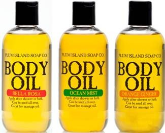 Plum Island Body Oil